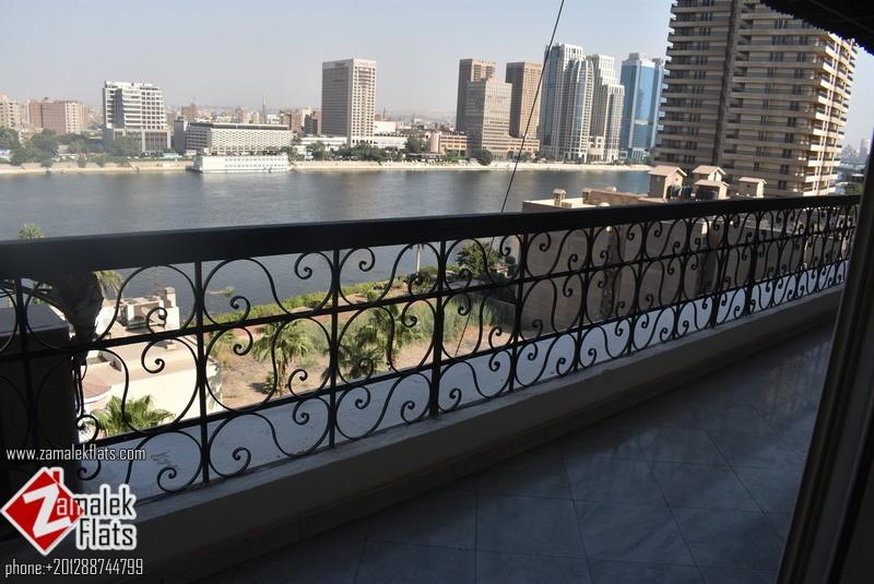 Nile View Duplex For Rent In Zamalek