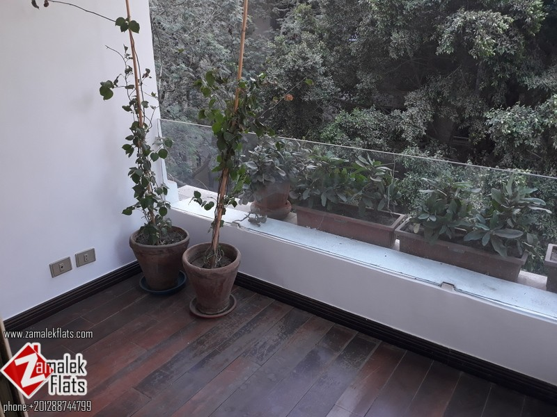 Semi Furnished Apt South Zamalek