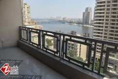 Newly Renovated And Furnished Nile View Apartment For Rent In Zamalek