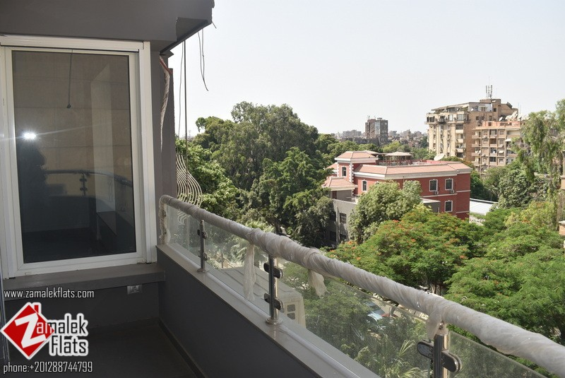 New Renovated Semi Furnished High Ceiling Apartment in Zamalek