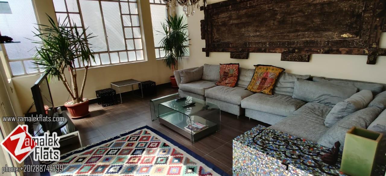 Modern Pent House For Rent In Zamalek