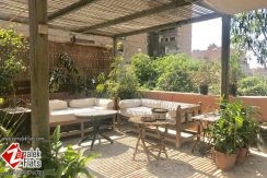 Penthouse with Large Terrace for Rent in Zamalek