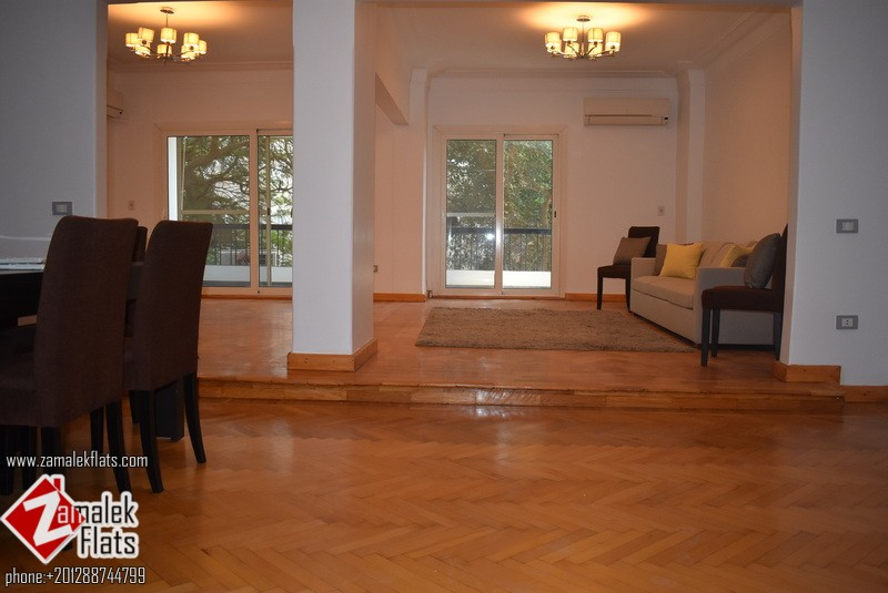 Spacious Apartment for Rent in Zamalek