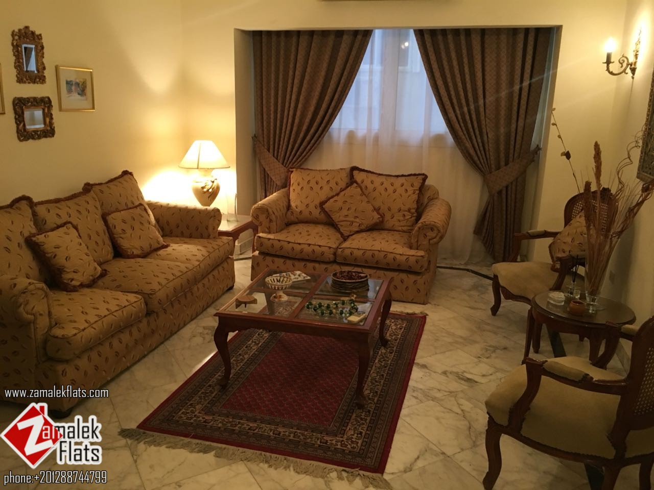Cozy Apartment For Rent in South Zamalek