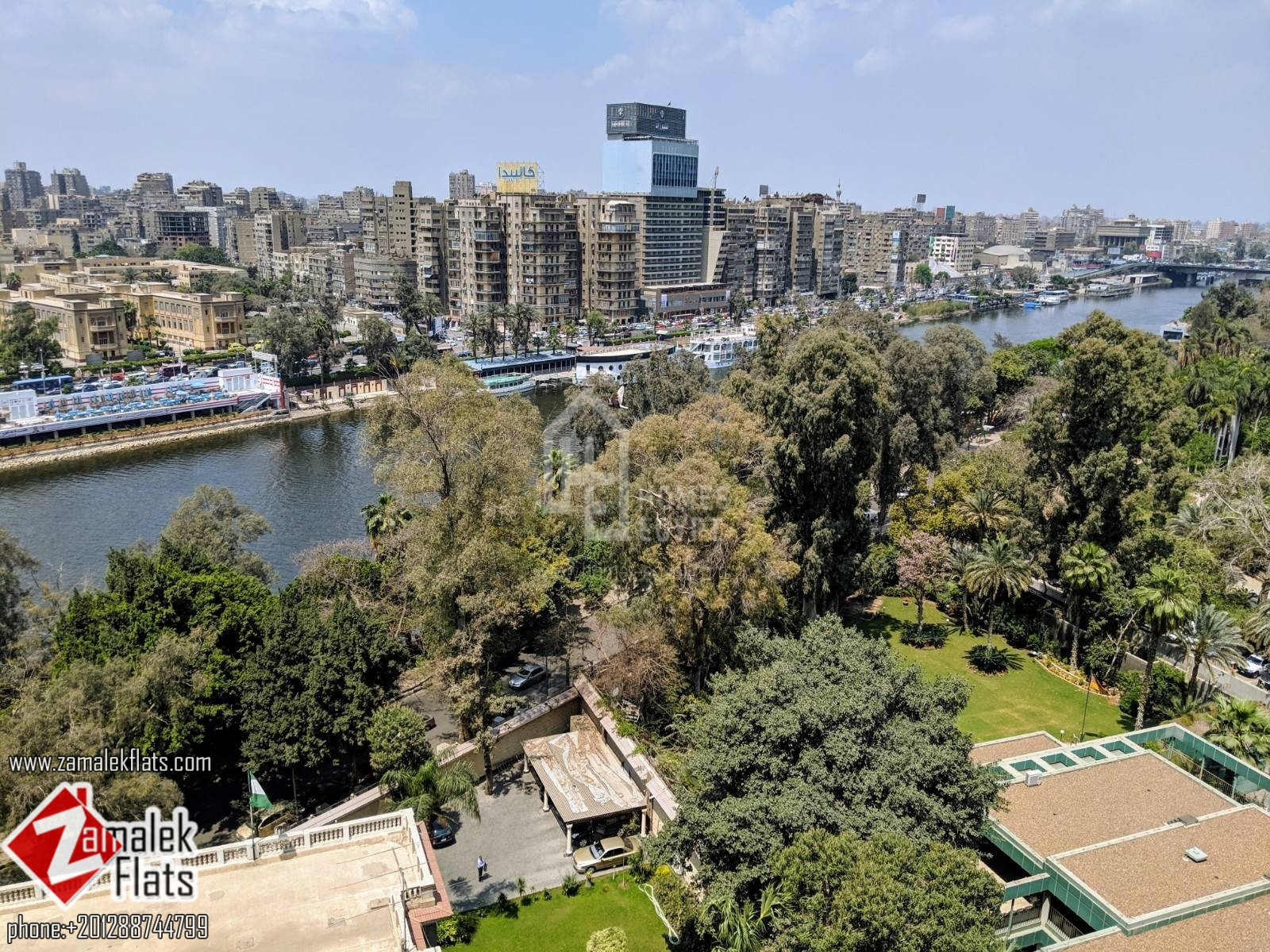 Nile View Apt for Rent in South Zamalek.