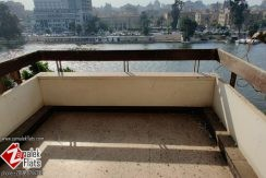 Nile View Apartment in South Zamalek for Rent
