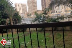 Nile View Duplex Apt With Private Garden For Rent