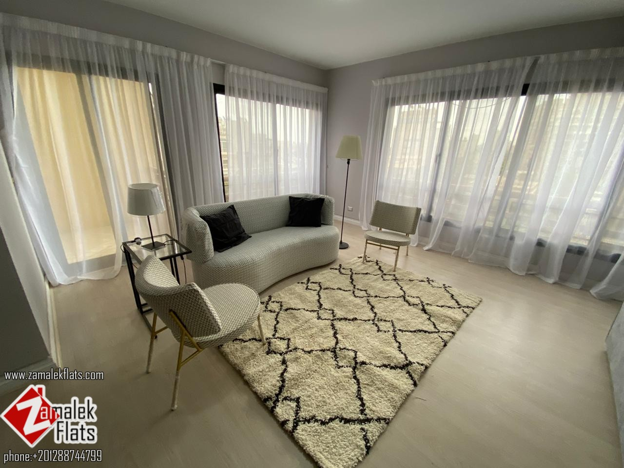 Brand New Modern Apartment for Rent in South Zamalek
