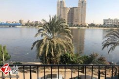 Apartment With Direct Nile View For Rent In Zamalek