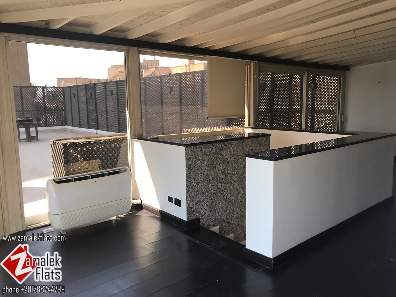 Newly Renovated Penthouse for Rent in South Zamalek
