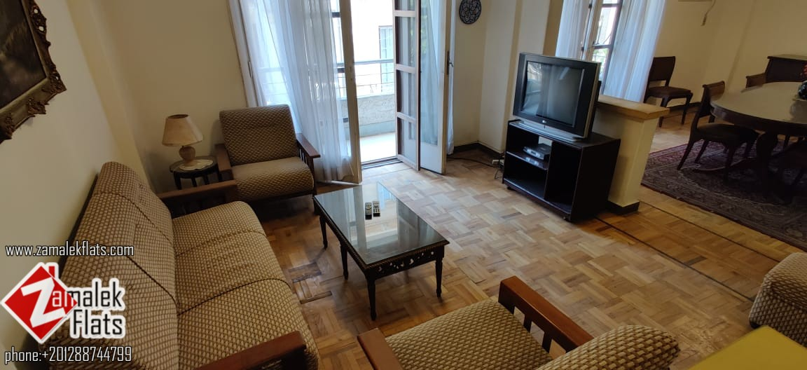 Furnished Apartment For Rent In South Zamalek