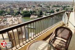 Nile View Fully Furnished Apartment For Rent In Zamalek
