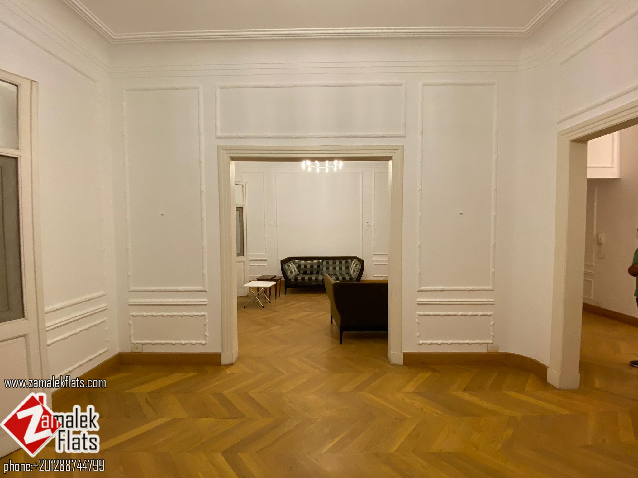 Semi Furnished Apartment in Vintage Building in Zamalek