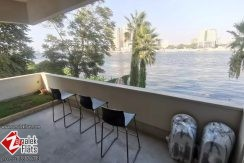 Modern Nile View Apartment for Rent in Zamalek