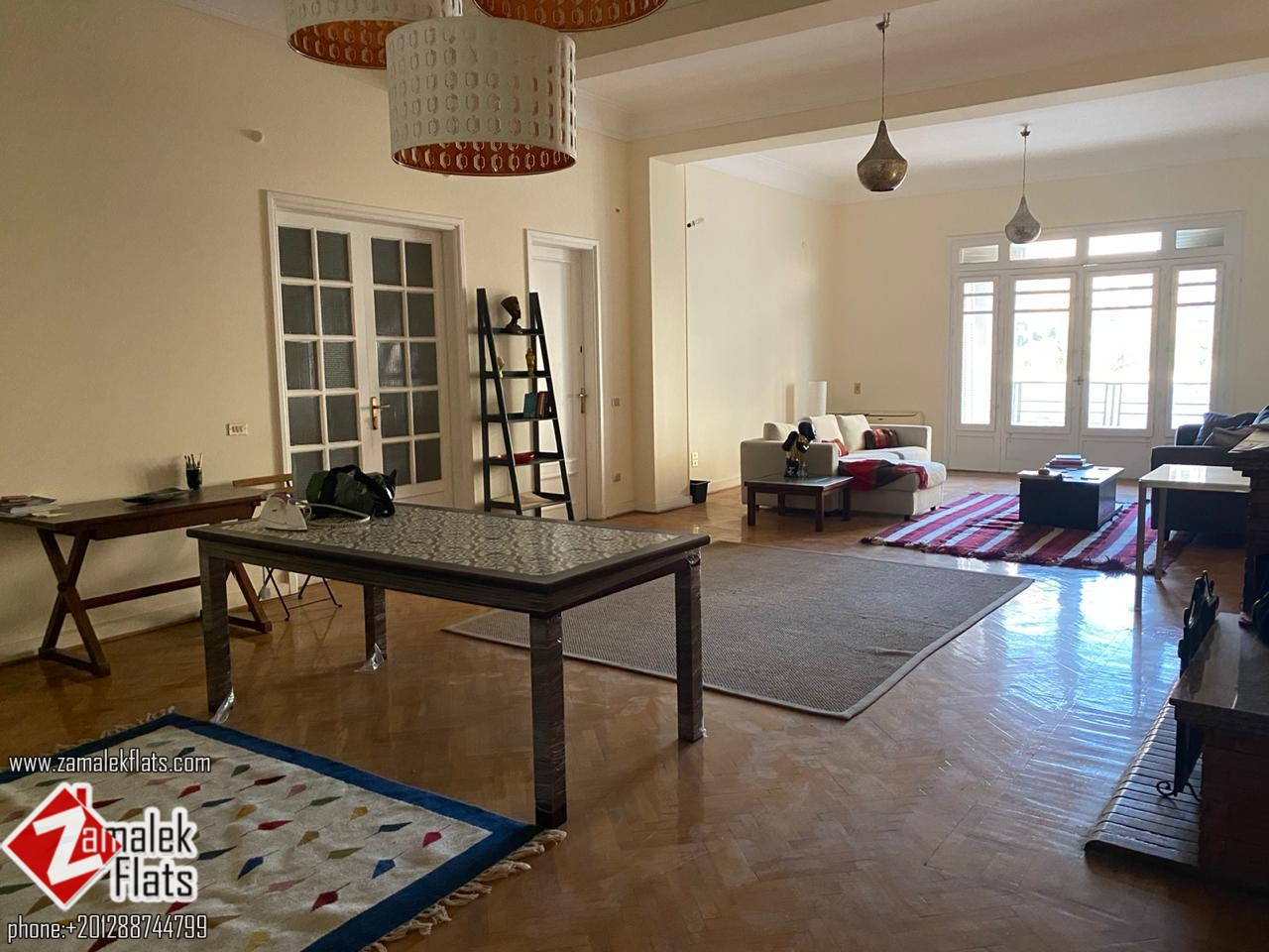Spacious Apartment For Rent In South Zamalek