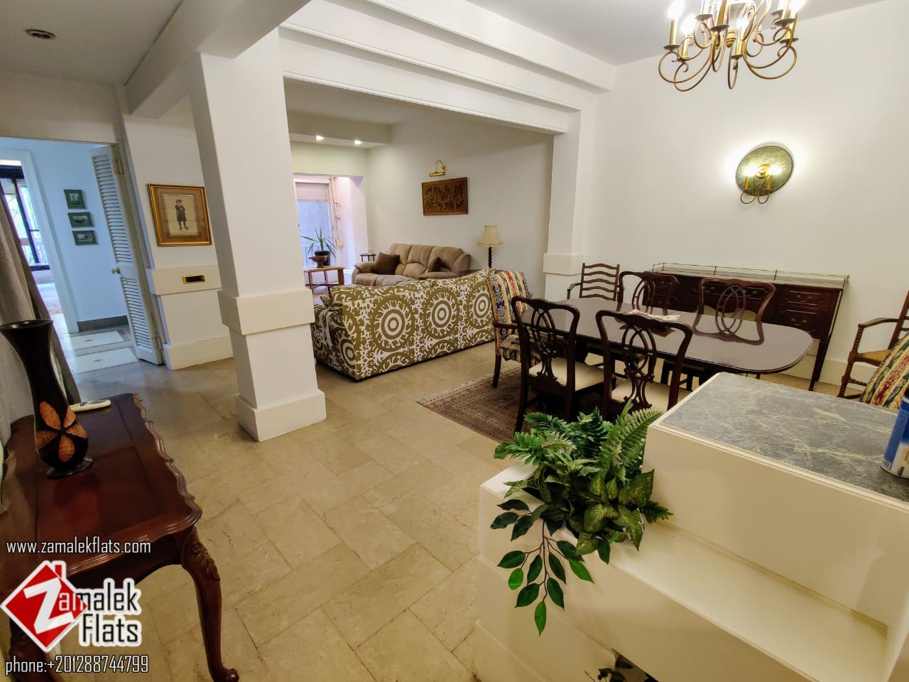 Clean Furnished Apartment for Rent in Zamalek