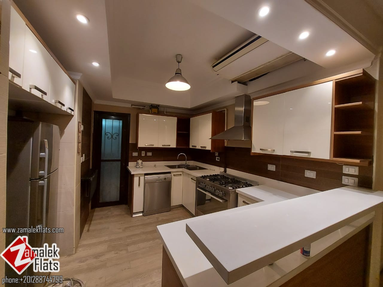 Well Finished Apartment with Open Kitchen for Rent