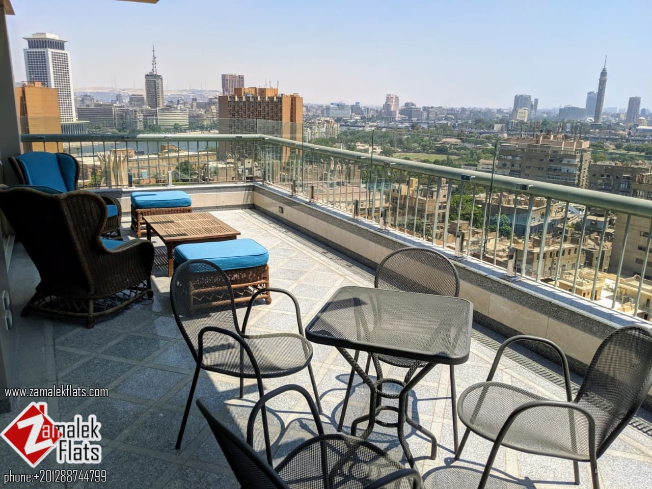 New Elegant Duplex for Rent in South Zamalek