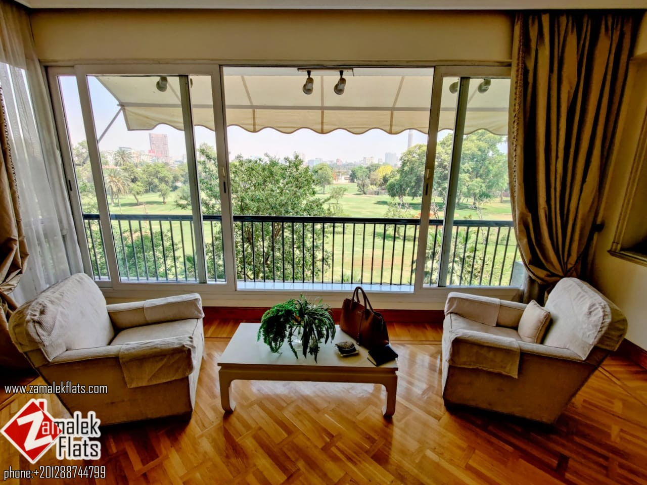 Furnished Green View Apartment For Rent In Zamalek