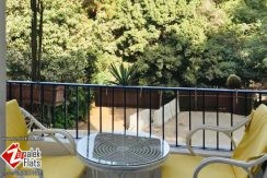 Bright Furnished Apartment with Balcony Beside Marriott