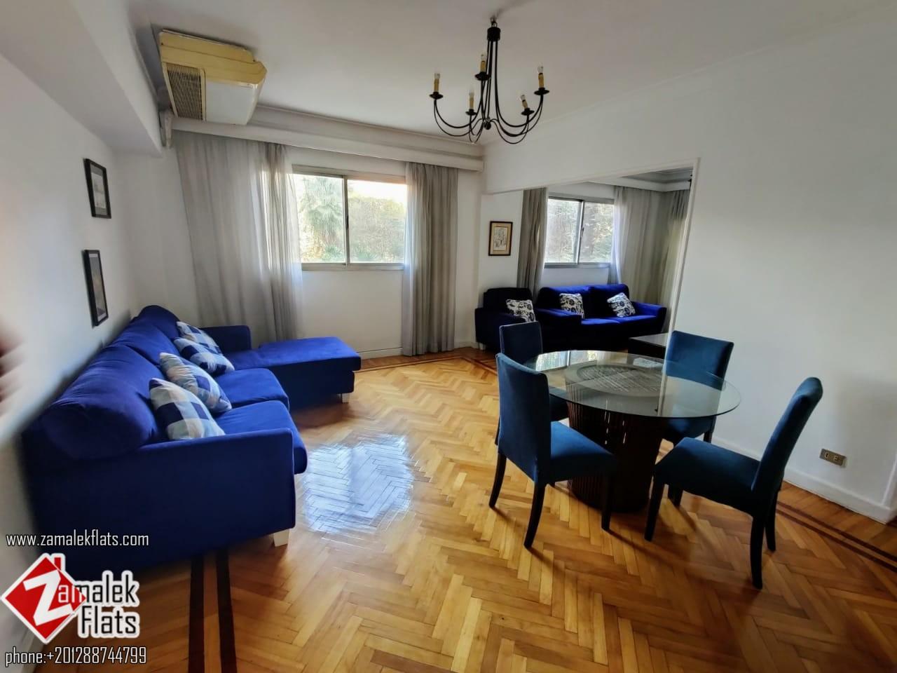 Renovated Apartment For Rent In Zamalek