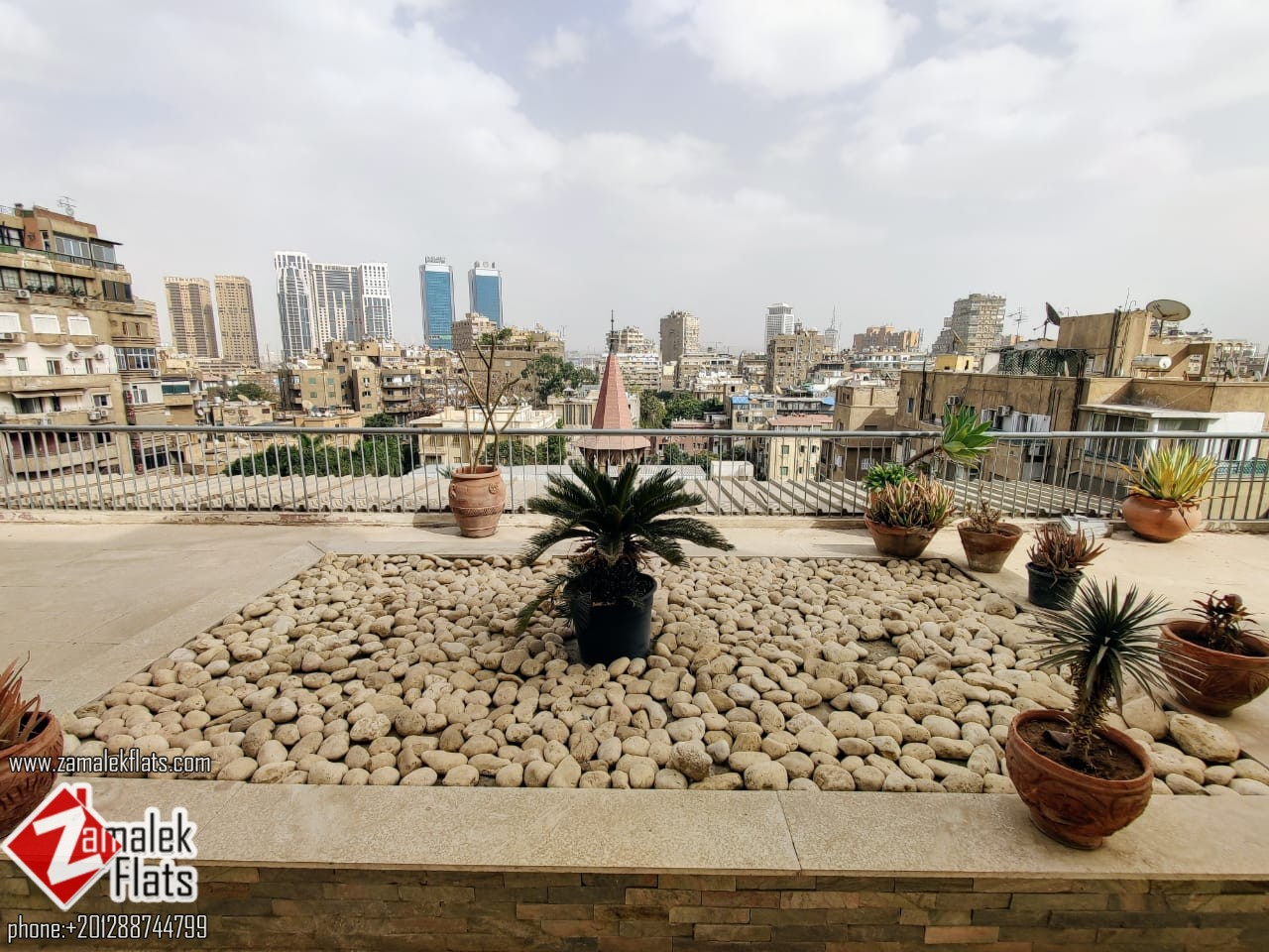 Spacious Semi-Furnished Penthouse For Rent In Zamalek