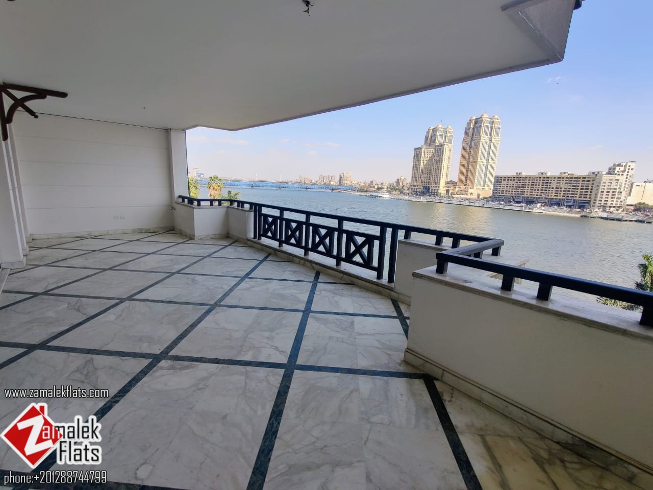 Well Finished Nile View Apartment For Diplomates In Zamalek