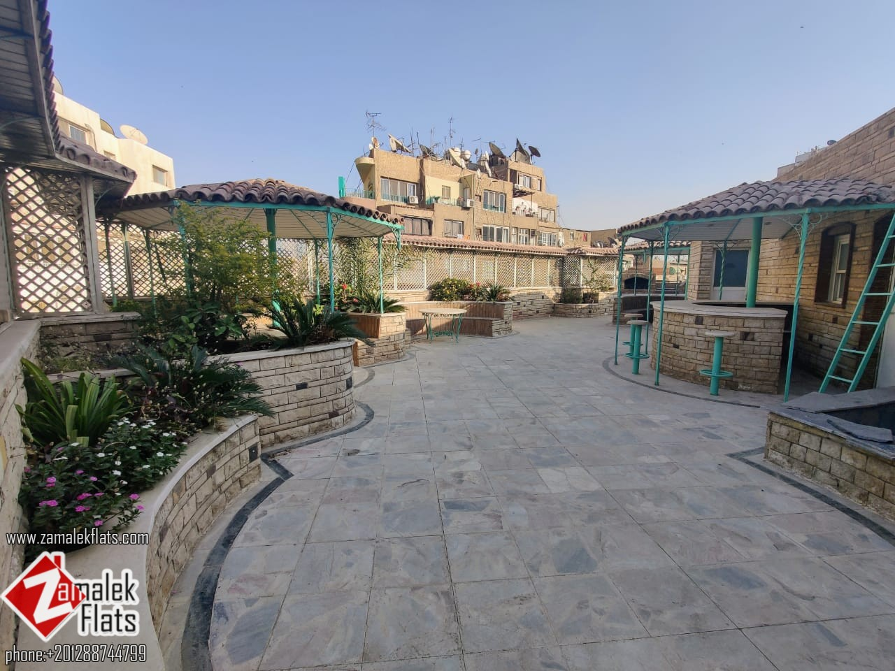 Large Penthouse for Rent in Zamalek