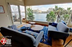 Stunning Nile View Apartment in Historical Building in Zamalek