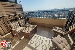 Nile and Gezira Club View Apartment for Rent in South Zamalek
