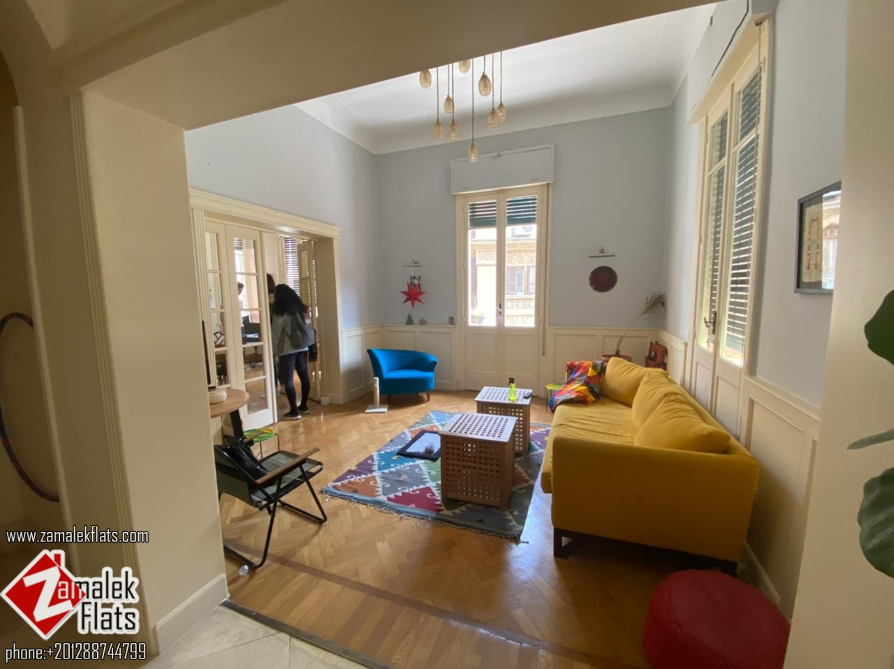 Well Furnished Apartment for Rent in Zamalek