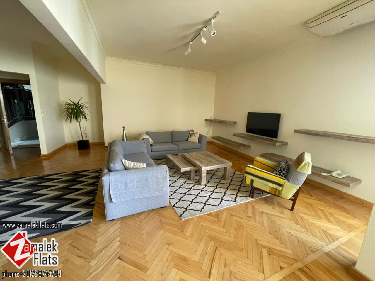 New Furnished and Newly Refurbished Apartment For Rent In Zamalek