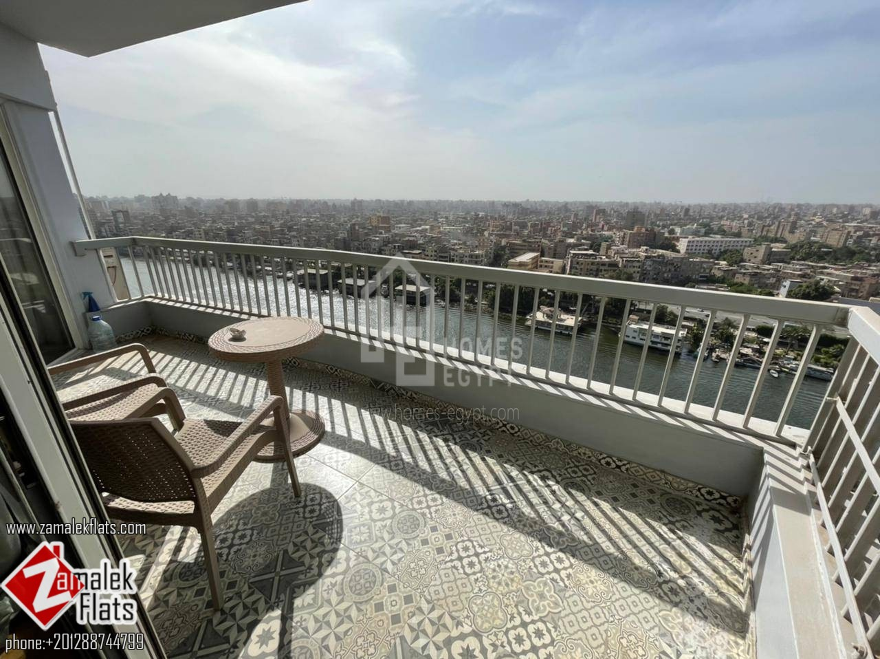 New furnished will renovated nile view